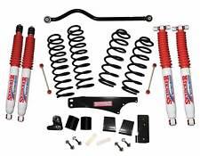 """Skyjacker® 4"""" Softride System w/ Nitro Shocks for 07-17 Jeep Wrangler JKU 4 Door"""