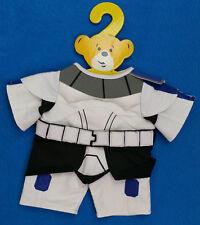 NEW Build-A-Bear STAR WARS Teddy Bear Plush Costume Rex Clone Trooper no Hood
