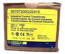 Square D Industrial Control Transformer 9070T200Q32415 BNIB