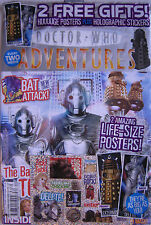 DOCTOR WHO Adventures- Issue 11, 24 Aug - 6 Sept 2006, Free Poster, Sticker GIFT