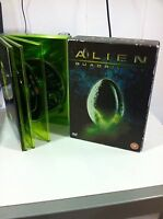 Alien Quadrilogy Deluxe Edition 9 DVD English Extended Versions Ultimate Am