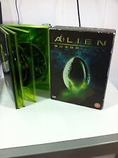 ALIEN QUADRILOGY DELUXE EDITION 9 DVD ENGLISH EXTENDED VERSIONS ULTIMATE
