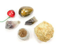 Crystal Gift Lot (Set of 5) Gemstone Gifts Rock Collection CR24B Point Egg Geode