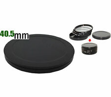 Aluminium 40.5mm Filter Stack Cap - store any number of 40.5mm filters safely