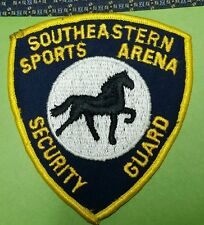 VINTAGE SOUTHEASTERN SPORT ARENA SECURITY GUARD (POLICE) SHOULDER PATCH