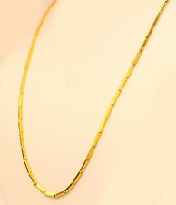 """22K 22kt  PURE YELLOW GOLD baht chain / necklace from Thailand 16"""" #b10"""