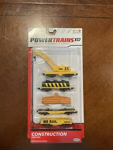 Jakks Pacific Power Trains 2.0 Construction 4 Car Pack