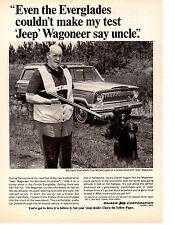 1966 KAISER JEEP WAGONEER  /  TOM McCAHILL  ~  CLASSIC ORIGINAL PRINT AD