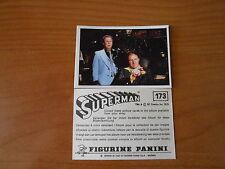 FIGURINA SUPERMAN n.173 -  ED.PANINI 1978 - COMPLETA DI VELINA