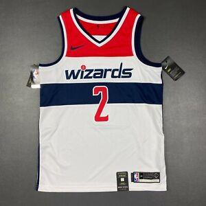 100% Authentic John Wall Nike Wizards Swingman Jersey Size 44 M Mens