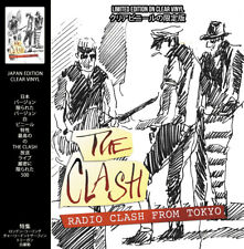 The Clash - Radio Clash Tokyo Limited Edition Clear Colour Vinyl Record IN STOCK