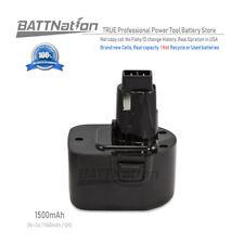 12V 1.5 Amp Hour NiCad Pod Style Battery for Black & Decker, FireStorm PS130