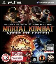 Mortal Kombat-Komplete Edition Para PS3 PAL (nuevo Y Sellado)