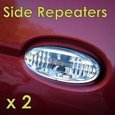 Crystal Clear Side Repeaters / Indicators for Nissan Navara 1997-2006 (Pair)