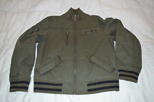 Authentic Juicy Couture Dirty English Mens Bomber Cotton Jacket Size XL