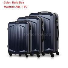 """Hardside 3pcs 360° Spinner Luggage Set (20""""/24""""/28"""") Suitcase PC + ABS M7C5"""