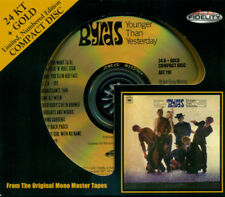 THE BYRDS - Younger Than Yesterday < 2001 AF 24 KT Gold CD #'d MONO < Sealed