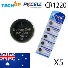 x5 Original PKCELL Cr1220 lithium Button Cell coin batteries v3 Fresh stock melb