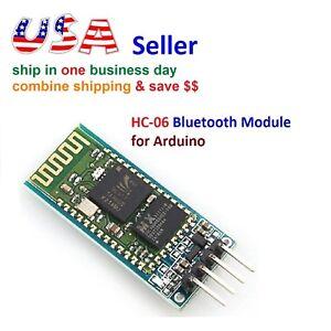 Wireless RF Transceiver Bluetooth HC-06 Slave Module RS232/TTL for Arduino
