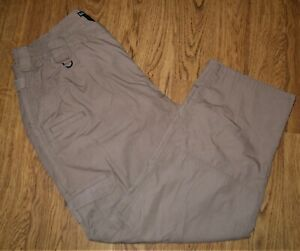 5.11 Men's Tactical Pants Kahki W42/30L Police/Sherif/Law Enforcement USED