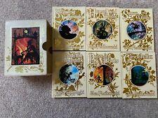 JAN PIENKOWSKI Fairy Tale Library Illustrated Set of 6 Miniature Books Slipcase