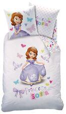 Disney Prinzessin Sofia die Erste Bettwäsche Set 135x200cm 80x80 Linon Princess