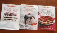 Australian Women's Weekly 3 Mini Christmas Cookbooks Ultimate Christmas Feast