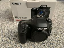 Canon Eos 80D 24.2 Mp Digital Slr Camera With Accessories