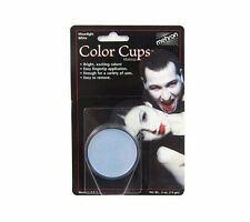 MEHRON MOONLIGHT WHITE COLOR CUP OIL BASED GREASE PAINT MAKEUP