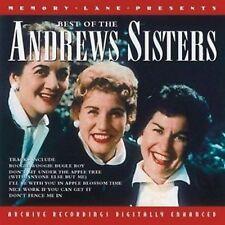The Andrews Sisters - Best Of - CD Album (2000)
