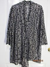 Ladies black and gold Lace long sleeved size 20 blouse