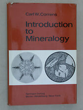 Introduction à la minéralogie Mineralogy Correns Cristallographie Pétrologie