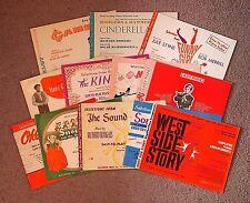 Lot of 12 EASY-TO-PLAY Piano Solo Bks ~Disney Broadway Sondheim R&H Lerner/Loewe