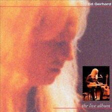 Edward Gerhard The Live Album CD OOP STEEL GUITAR