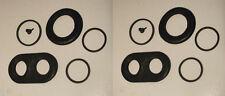(Axle Set) JAGUAR E Type Series 2 FRONT BRAKE CALIPER REPAIR SEALS KITS 1968-71