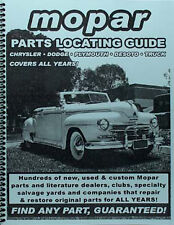 Find Dodge Parts with a book 1963 1964 1965 1966 1967 1968 1969 1970 1971 1972