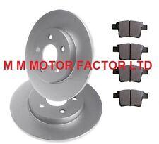 Ford Mondeo MK3 2.2 TDCi 148 Rear Brake Discs Pads Set 280mm Solid