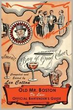 Old Mr. Boston Deluxe Official Bartender's Guide by Leo Cotton and Boston...