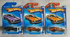 Hot Wheels Rebel Rides Mustang Mach 1 Lot Of 3