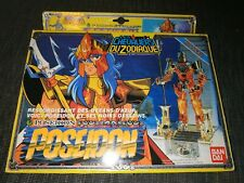 Saint Seiya Les Chevaliers du Zodiaque Poseidon Vintage 1987 cdz collection