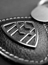 original Mercedes Benz Maybach Schlüssel Anhaenger Anhänger Leder Logo black NEU