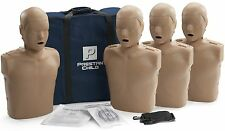 Prestan AED CPR Training Manikins 4 Pack CHILD Dark Skin PP-CM-400-DS