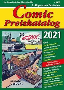 Comic Preiskatalog 2021 SC - Stefan Riedl -  9783947800070