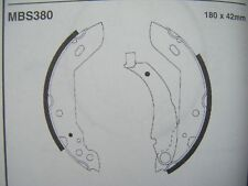 renault clio rear brake shoes (90 - 98) (mbs380)
