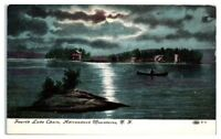 Fourth Lake Chain, Adirondacks, NY Postcard