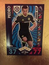 MATCH Attax Stagione 16/17 Chelsea Away Kit #364 PEDRO