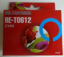 RE-T0612 15ml cyaan ink cartridge NIEUW cyan NEW EPSON STYLUS D68/88 DX3800 etc