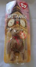 BRITANNIA THE BEAR NIB TY BEANIE BABIES RONALD MCDONALD CHARITIES WITH ERRORS