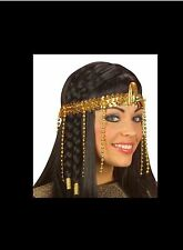Women Egyptian Beaded Headdress Cleopatra Fancy Dress Costume Hair Decor -  UK abf3804c1d0