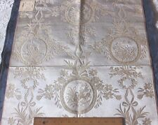 "French 19thC Antique Lyon Silk Brocade Fabric~Marie Antoinette Style~30""Lx22""W"